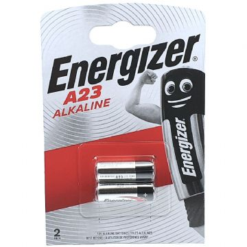Energizer A23 23A 12V Alkaline Batteries (Twin Pack)